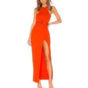 Revolve NBD x Naven Sadie Dress in Red Coral
